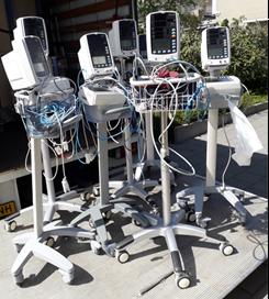 Geschonken medische apparatuur