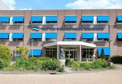 Opgehaalde apparatuur in het Van Weel Bethesda ziekenhuis in Dirksland.